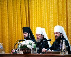 Выступление ректора ОЦАД в Казанской духовной семинарии