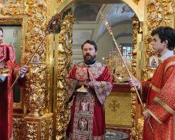 Божественная литургия 03.10.2021 г. Михаила и Фёдора Черниговских