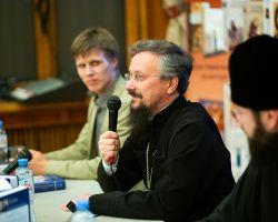 В ЦДЛ прошла презентация новой книги игумена Арсения (Соколова) о пророке Осии
