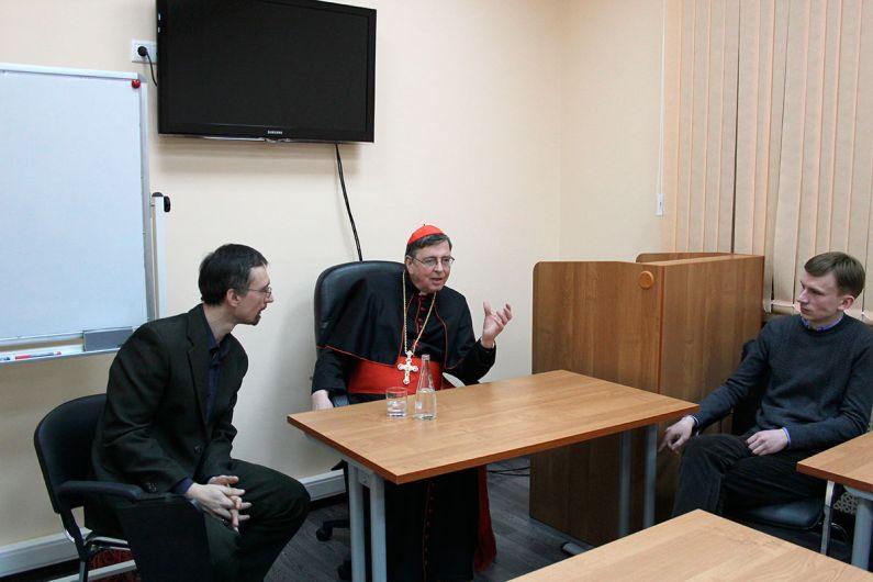 Выступление кардинала Курта Коха